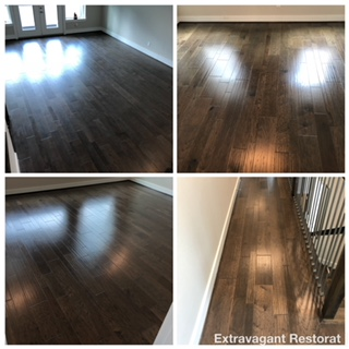cleaning and refinishing hardwood floors